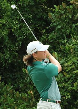 Golfer Ryan Gendron